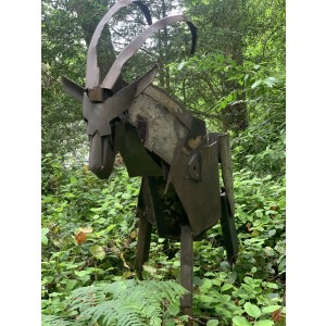 Horned Antelope by Ian Nutting at The Sculpture Park