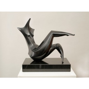 Reclining Woman by Isaac Kahn