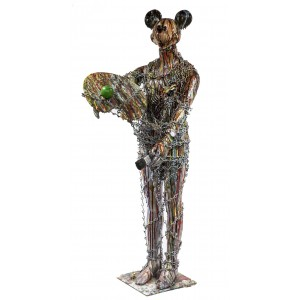 Mickey by Jim Collins at The Sculpture Park