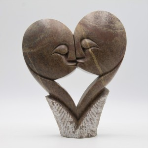 Kiss by Cuthbert Tendai, Rose Serpentine, Unique, The Sculpture Park