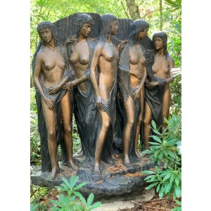 Le Bagnanti (The Bathers) by Bruno Locatelli at The Sculpture Park