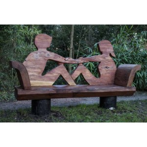 The Couple Bench by Liam O'Neill