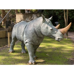 White Rhinoceros by John Cox at The Sculpture Park
