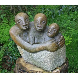 The Family by Locardia Ndandarika at The Sculpture Park