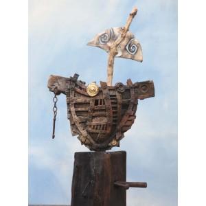 Pugwash's Vessel by Mark Smith