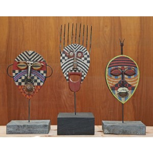 Tribal Heads by Martin Scorey