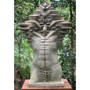 Multidimensional Torso by Toma Nenov at The Sculpture Park