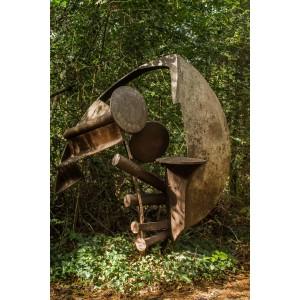 Peter Blunsden, Jericho, Welded Steel, Unique at The Sculpture Park
