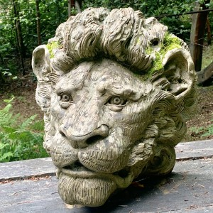 Stephen Hunton, The Lion, Reconstituted Portland Stone, The Sculpture Park