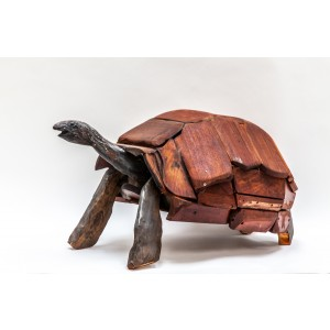 Tortoise by Clive Fredriksson at The Sculpture Park