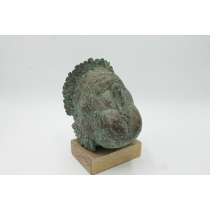 Valentino Dobica, Turkey, Bronze, 21cm high, 14cm wide, 15cm deep, The Sculpture Park