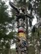 Flint Totem by Joseph Rusbridge at The Sculpture Park