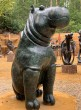 Pair of Monumental Hippos by Timothy Rukodzi at The Sculpture Park