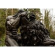 Samson Slays the Lion by Richard Minns at The Sculpture Park