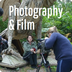 Photography and film at the Sculpture Park