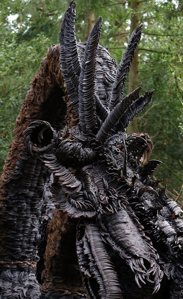 Record Breaking Horseshoe Dragon comes to The Sculpture Park