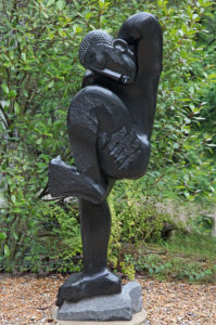 Tinei Mashaya, Celebration, Springstone, Unique, Signed, 205cm high, 70cm wide, 40cm deep