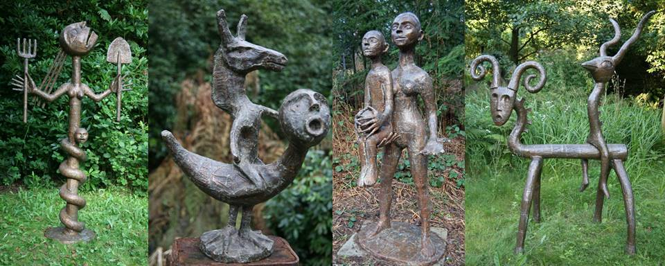 Top 15 popular sculptors - Quentin Clemance