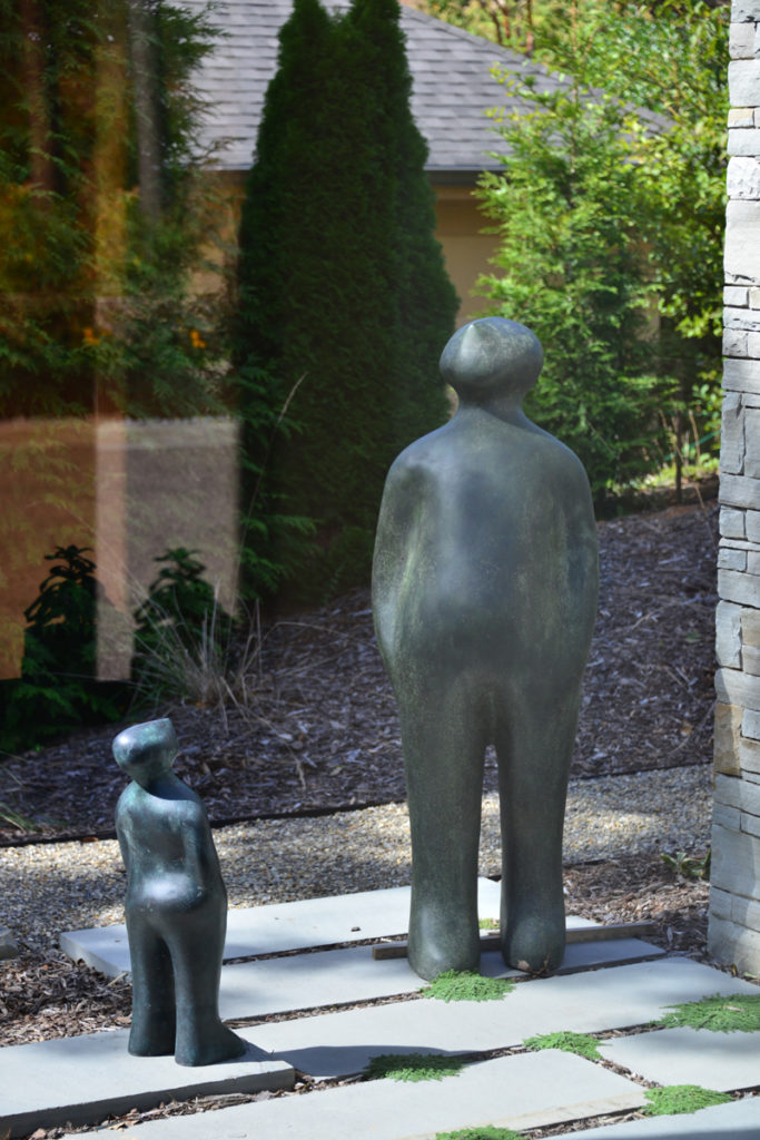 Sculpture for Sale - The Two Visitors