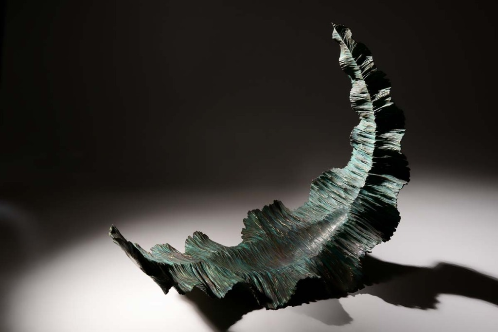 Take Off by Martyn Barratt - Showing the variation in Patination
