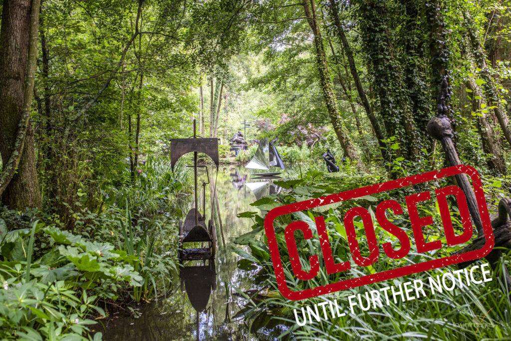 Sculpture Park closed until further notice