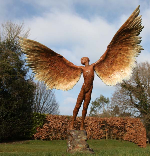 Icarus II by Nicola Godden ARBS at The Sculpture Park