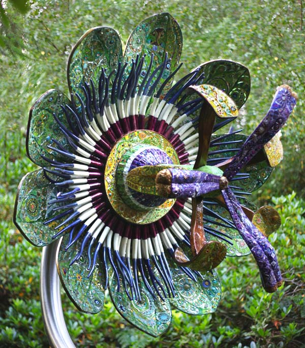 Passion Flower by Maylee Christee at The Sculpture Park